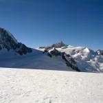 Aiguille du Midi (långt bort)
