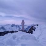 Staty på toppen