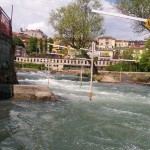 Top part Ivrea slalom course
