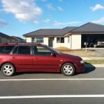 Min bil + Prettys hus